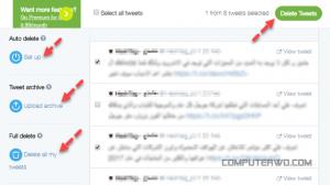 كيف تحذف التغريدات القديمة على تويتر مرة واحدة نيو تكنولوجيكو