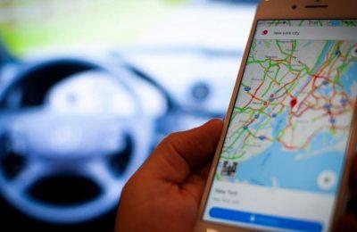 تطبيق Google Maps للإبلاغ عن الحوادث