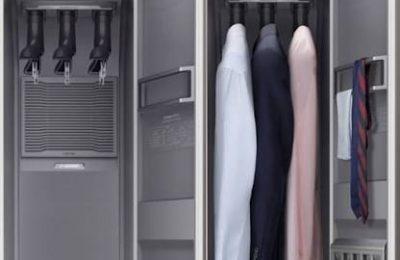 خزانة الملابس الذكية من سامسونج