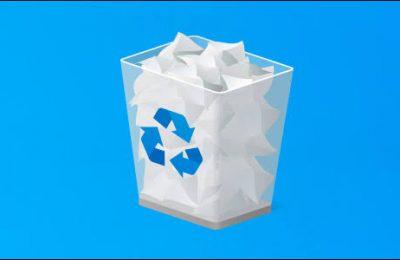 منع ويندوز 10 من حذف سلة المهملات